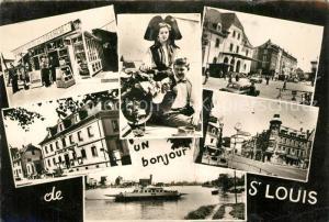 AK / Ansichtskarte Saint Louis_Elsass Vue partielle Saint Louis Elsass