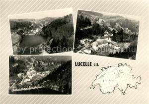 AK / Ansichtskarte Lucelle_Haut Rhin Maison Ste Catherine Vue partielle aerienne Lucelle_Haut Rhin
