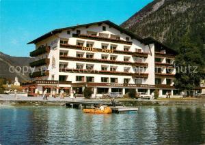 AK / Ansichtskarte Pertisau_Achensee Hotel Post am See Pertisau Achensee