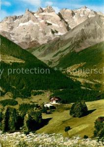 AK / Ansichtskarte Innerberg_Vorarlberg Gasthaus Fernblick Alpen Innerberg Vorarlberg
