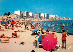 AK / Ansichtskarte Palavas les Flots_Herault La Plage Palavas les Flots_Herault