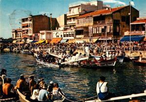 AK / Ansichtskarte Palavas les Flots_Herault Joutes sur le canal Palavas les Flots_Herault