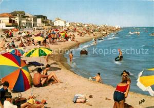 AK / Ansichtskarte Carnon_Plage Les plaisirs de la Mer au bord de la Plage d Ete Carnon_Plage