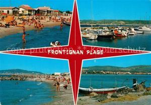 AK / Ansichtskarte Frontignan_Plage La Plage Le Port Frontignan_Plage