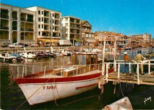 AK / Ansichtskarte Palavas les Flots_Herault Les bords du Canal et le Quai rive droite Palavas les Flots_Herault