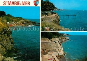 AK / Ansichtskarte Sainte Marie sur Mer Les Criques de Ste Marie Sainte Marie sur Mer