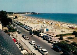 AK / Ansichtskarte Carnac_Plage La grande plage et le boulevard de mer vers la pointe Churchill vus du Britannia Carnac_Plage