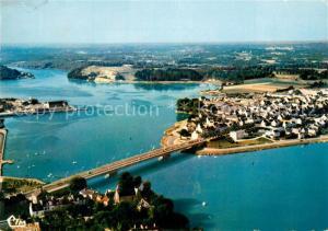 AK / Ansichtskarte Lorient_Morbihan_Bretagne Vue aerienne Le Pont St Christophe et le Scorff Lorient_Morbihan_Bretagne