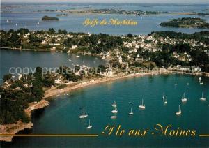 AK / Ansichtskarte Ile aux Moines Golfe du Morbihan Vue aerienne Ile aux Moines