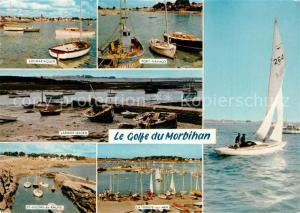 AK / Ansichtskarte Locmariaquer Port Navalo Larmor Baden St Gildas de Rhuys La Trinite sur Mer Locmariaquer