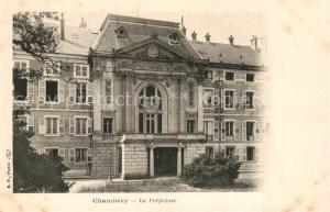 AK / Ansichtskarte Chambery_Savoie La Prefecture Chambery Savoie