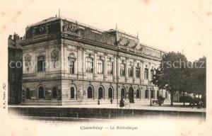 AK / Ansichtskarte Chambery_Savoie La Bibliotheque Chambery Savoie