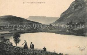 AK / Ansichtskarte La_Thuile_Savoie Le Lac