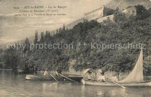 AK / Ansichtskarte Aix les Bains Lac du Bourget Chateau de Bourdeau Ancien Fief de la Famille de Seyssel de Bourdeau Aix les Bains