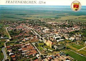AK / Ansichtskarte Frauenkirchen Fliegeraufnahme mit Barockkirche Frauenkirchen