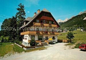 AK / Ansichtskarte Ramsau_Dachstein_Steiermark Pension Resi Pilz Ramsau_Dachstein