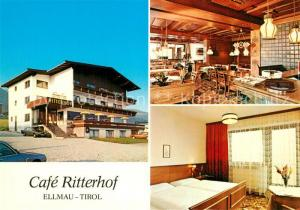 AK / Ansichtskarte Ellmau_Tirol Caf? Ritterhof Ellmau Tirol