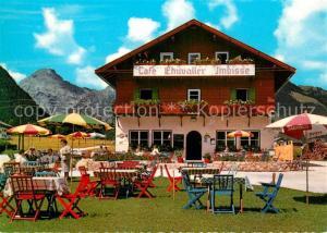 AK / Ansichtskarte Pertisau_Achensee Caf? Einwaller Imbisse Pertisau Achensee