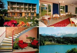 AK / Ansichtskarte St_Kanzian_Klopeiner_See Pension Kathi St_Kanzian_Klopeiner_See