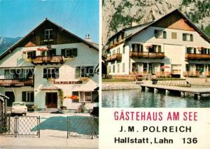 AK / Ansichtskarte Hallstatt_Salzkammergut G?stehaus am See  Hallstatt_Salzkammergut