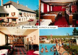 AK / Ansichtskarte Aurach_Hongar Pension Riedl Aurach Hongar