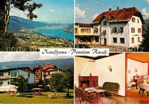 AK / Ansichtskarte Bodensdorf_Ossiacher_See Pension Rasch Bodensdorf_Ossiacher_See