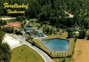 AK / Ansichtskarte Ledenitzen Restaurant Forellenhof Fliegeraufnahme Ledenitzen