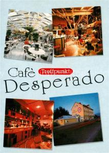 AK / Ansichtskarte St_Michael_Obersteiermark Cafe Desperado St_Michael_Obersteiermark