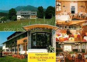 AK / Ansichtskarte Deutschlandsberg Alpengasthof Pension Koralpenblick Zur Ella Deutschlandsberg
