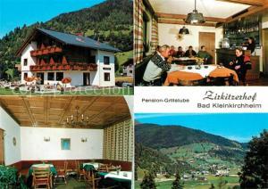 AK / Ansichtskarte Bad_Kleinkirchheim_Kaernten Pension Grillstube Zirkitzerhof Landschaftspanorama Bad_Kleinkirchheim
