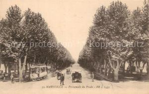 AK / Ansichtskarte Marseille_Bouches du Rhone Promenade du Prado Marseille