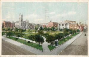 AK / Ansichtskarte New_Orleans_Louisiana Lafayette Square