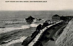 AK / Ansichtskarte San_Francisco_California Cliff House and Seal Rocks