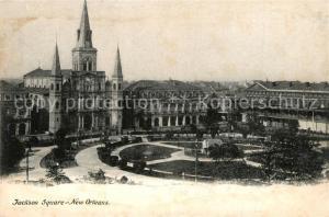 AK / Ansichtskarte New_Orleans_Louisiana Jackson Square