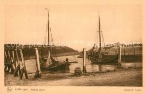 AK / Ansichtskarte Zeebrugge Port de peche Bateaux de pecheurs Zeebrugge
