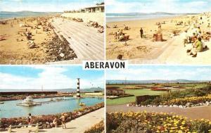 AK / Ansichtskarte Aberavon Strand Promenade Park Freibad Aberavon
