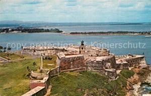 AK / Ansichtskarte San_Juan_Puerto_Rico El Morro Castle San_Juan_Puerto_Rico