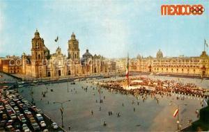 AK / Ansichtskarte Mexico_City Catedral Mexico City