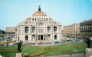 AK / Ansichtskarte Mexico_City Palacio de Bellas Artes Mexico City