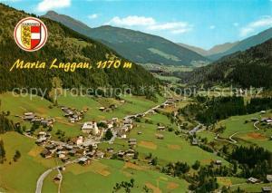 AK / Ansichtskarte Maria Luggau Panorama Wallfahrtsort Erholungsort im Lesachtal Fliegeraufnahme Maria Luggau