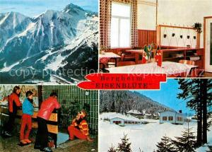 AK / Ansichtskarte Vordernberg Bergheim Eisenbluete Winterlandschaft Alpen Vordernberg