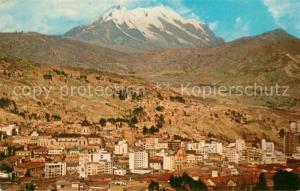 AK / Ansichtskarte La_Paz_Bolivia Nevado Illimani La_Paz_Bolivia