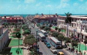 AK / Ansichtskarte Kingston_Jamaica King Street looking towards Harbour Kingston_Jamaica