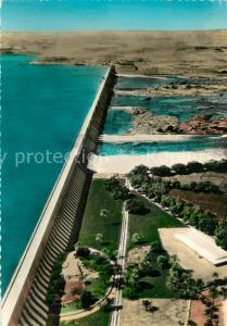 AK / Ansichtskarte Asswan Fliegeraufnahme Nile Dam Asswan