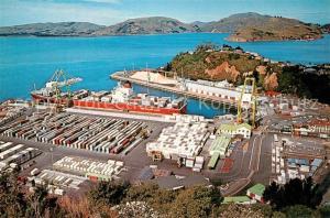 AK / Ansichtskarte Chalmers Fliegeraufnahme Port and Otago Harbour  Chalmers