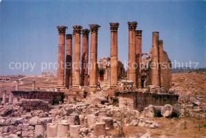 AK / Ansichtskarte Jerash_Jordanien S?ulen Ruine