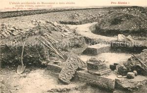 AK / Ansichtskarte Alesia(Roman War)_Alise Sainte Reine Abside occidentale du Monumenta trois absides