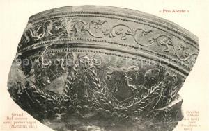 AK / Ansichtskarte Alesia(Roman War)_Alise Sainte Reine Grand Bol samien avec personnages Mercure etc