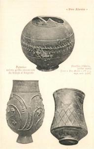 AK / Ansichtskarte Alesia(Roman War)_Alise Sainte Reine Poteries noires gallo romaines du temps d Auguste