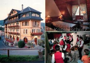 AK / Ansichtskarte Thannenkirch Touring Hotel Restaurant Gaestezimmer Musikkapelle Thannenkirch
